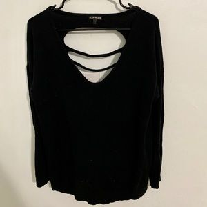 Express Sweaters - Express sweater- back cut out.